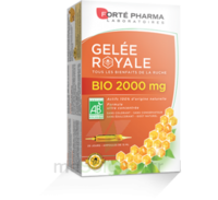 Forte Pharma Gelée royale bio 2000 mg Solution buvable 20 Ampoules/15ml à AURILLAC