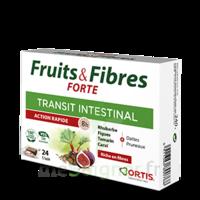 Ortis Fruits & Fibres Forte Cube à Mâcher B/24 à AURILLAC
