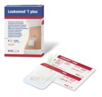 Leukomed T Plus Pansement Adhésif Stérile Avec Compresse Transparent 8x10cm B/5 à AURILLAC