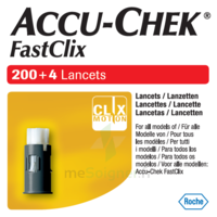 Accu-chek Fastclix Lancettes B/204 à AURILLAC