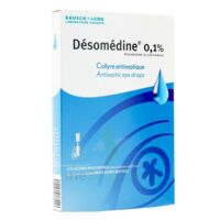 Desomedine 0,1 % Collyre Sol 10fl/0,6ml à AURILLAC