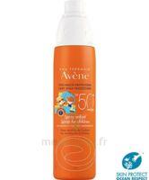 Avène Eau Thermale Solaire Spray Enfant 50+ 200ml à AURILLAC