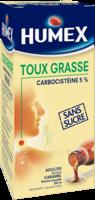 Humex 5 % Solution Buvable Expectorant Sans Sucre Adulte Fl/250ml à AURILLAC
