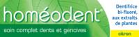 Boiron Homéodent Soin Complet Dents Et Gencives Pâte Dentifrice Citron T/75ml à AURILLAC