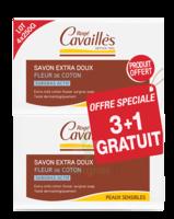 Rogé Cavaillès Savon Surgras Extra Doux Fleur De Coton 3x250g + 1 Offert à AURILLAC