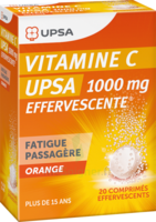 Vitamine C Upsa Effervescente 1000 Mg, Comprimé Effervescent à AURILLAC