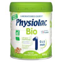 Physiolac Bio 1 Lait En Poudre B/800g à AURILLAC